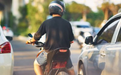 Does Lane Splitting Cause Motorcycle Accidents?
