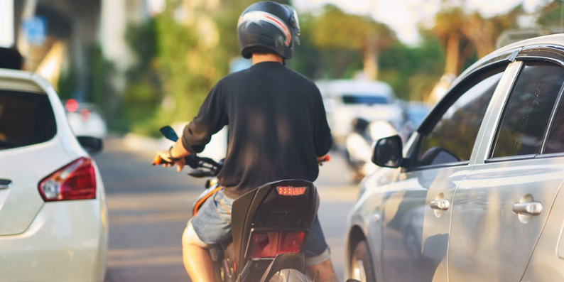 Motorcycle Accidents in Colorado From Lane Splitting