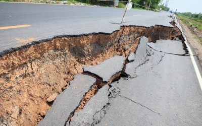 Spring Rains, Sinkholes, and Road Hazards
